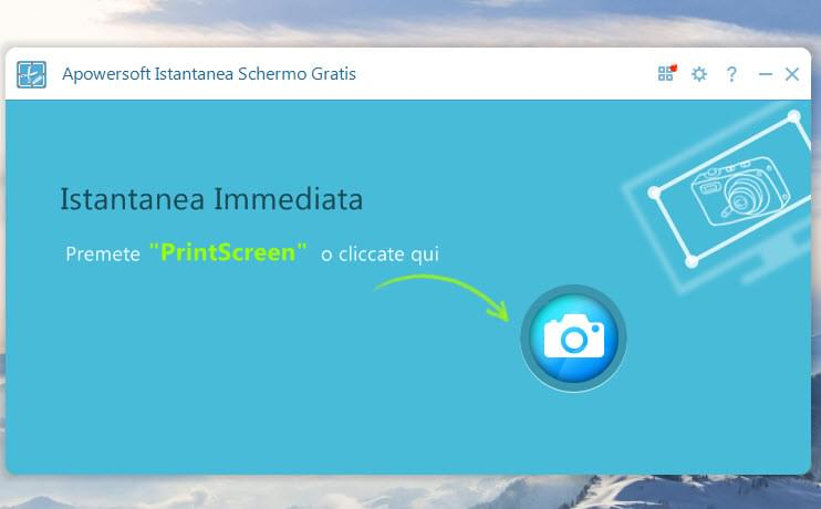 Screenshot principale