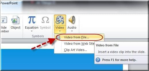 come inserire video in powerpoint
