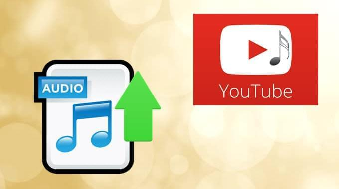 carica audio su Youtube