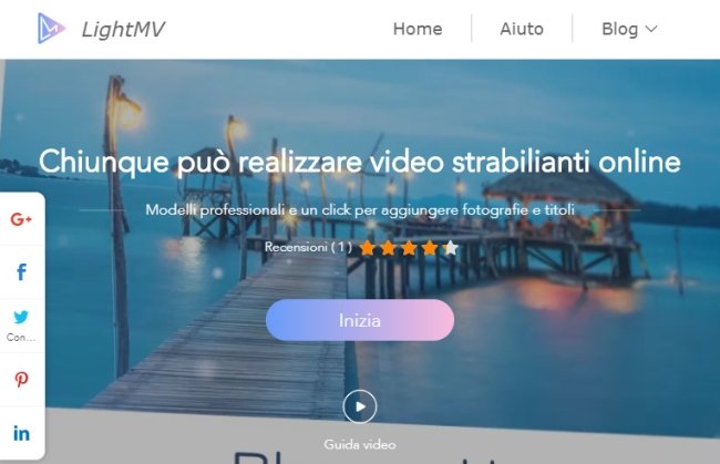 LightMV programmi per fare video